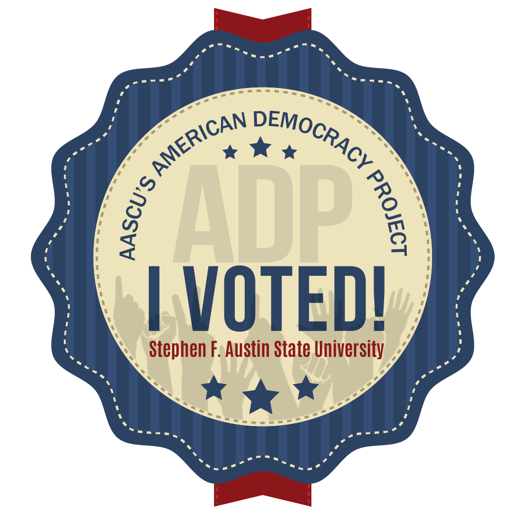 ADP I Voted Sticker Campus - High Res