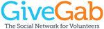 GiveGab logo with tagline