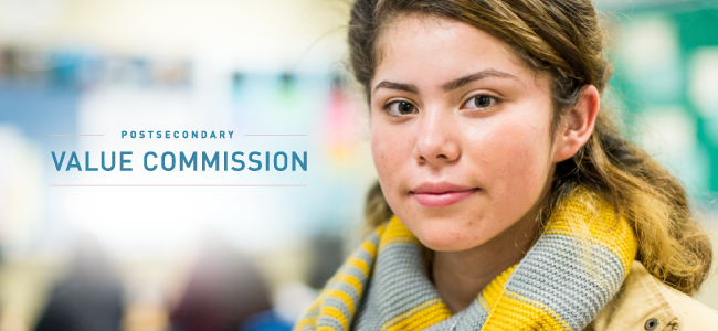 Postsecondary Value Commission