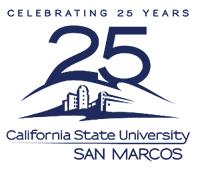 CSU San Marcos - 25th logo