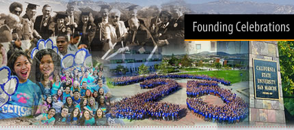 CSU San Marcos - Founding Celebrations