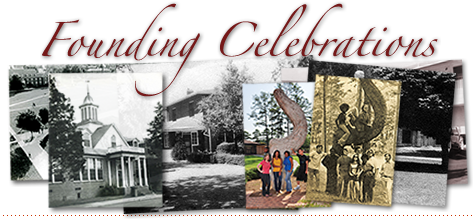 Founding Celebrations - landing 