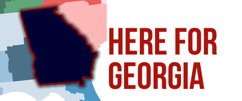 Here for Georgia - graphic