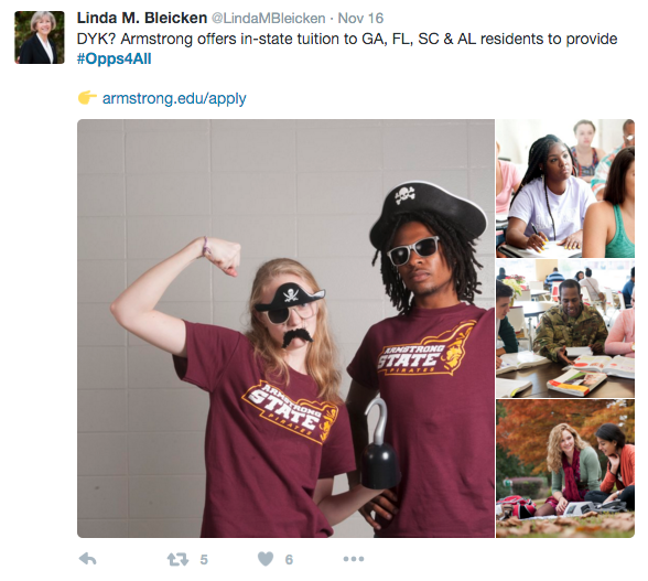 Social Media - Armstrong State
