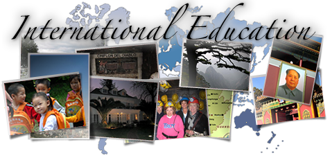 International Education - landing image