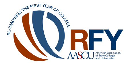 Re-imagining the First Year of College AASCU logo