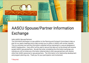 Spouse Partner Info Exchange